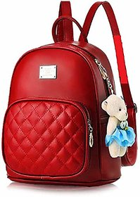 Leather Retail Backpack for Women and Shoulder Bag for Girls College Office Bag, Sling Bags for Womens Stylish Latest D