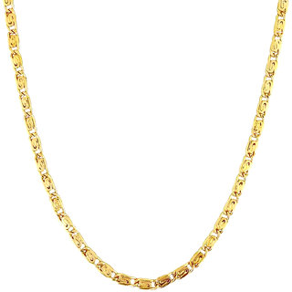 Artificial Chain For Boys Daily Wear Heavy Look Real Gold Look Golden Polish Mens Gents Chain