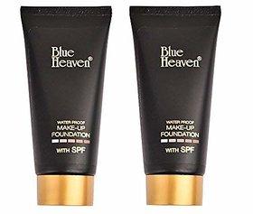 Blue Heaven Makeup Foundation Tube (Set Of 2 Pc)