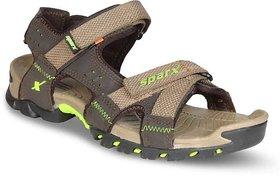 Sparx camel green sandal