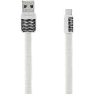 Remax Platinum Data Cable For Type-C - White (Rc-044A)