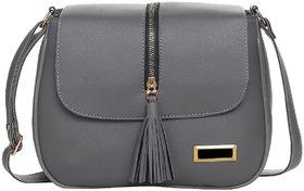 Leather Retail PU Tassel Cross Sling bag HAND BAG SHOULDER BAG for Women and Girls College Office Bag