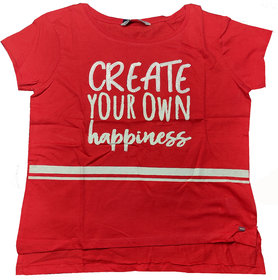 RED T-SHIRT FOR GIRLS