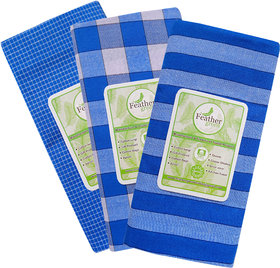 Cotton Checked  Lungi Pack of 3 pcs