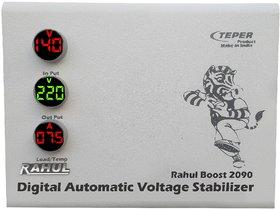 RaRahul Boost 2090 2 Kva/8 Amp 100-280 Volt,5 Booster,Use Maximum 8 Amp Load,Mainline Automatic Voltage Stabilizer