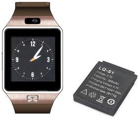 Crystal Digital Smartwatch Battery 37V 380mAh Black  (Only Battery)