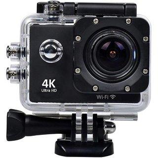 Bushwick Wi-Fi 4K Waterproof Sports Action Ultra HD, 16MP,2 Inch LCD Display, HDMI Out, 170 Degree Wide Angle Camera.