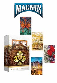 REGAL Plastic Coated Magnus 555 Club Playing Cards Set of 4 Decks - Made