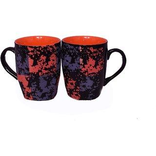 Vessel Crew (colour mug set of 2) Clay Tea and Coffee Mugs (Set of 2)