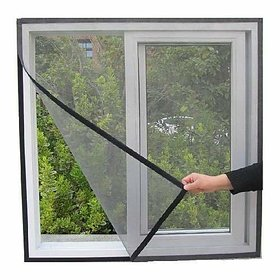 Shop Stoppers  Magnetic Mosquito Screen Curtain Net for Main Doors, Balcony, Kitchen or Windows with Self Adhesive Magn