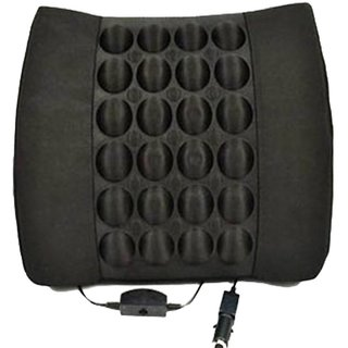 Auto Fetch Car Seat Vibrating Massage Cushion Black for Maruti Suzuki Grand Vitara