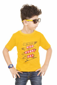 Boys Casual Round Neck T Shirt