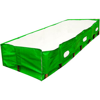 Mipatex Organic Vermicompost Maker Bed, 450 GSM (12ft x 4ft x 2ft)