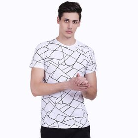 Stylogue Round Neck Half  Sleeve T-shirt For Men