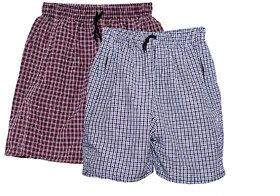 Men Check Multicolor Boxers Shorts (Pack of 2)