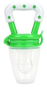 CHILD CHIC SILICONE FOOD//FRUIT//FEEDER//PACIFIER(GREEN)