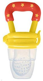 CHILD CHIC SILICONE FOOD//FRUIT//FEEDER//PACIFIER(YELLOW)
