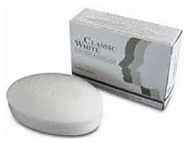 CLASSIC WHITE SKIN WHITENING SOAP (PACK OF 3 Pcs).