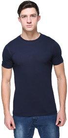Armure Men's Navy Round Neck T-Shirts