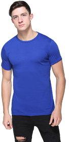 Armure Men's Blue Round Neck T-Shirts