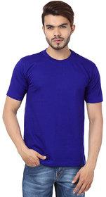 Ketex Men's Blue Round Neck T-Shirts