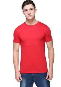 Armure Men's Red Round Neck T-Shirts