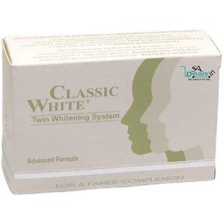 Classic White Skin Whitening Soap (Pack of 12, 85g Each)
