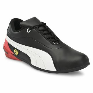 Lee Peeter Black Lace-up Smart Casual Shoes For Men