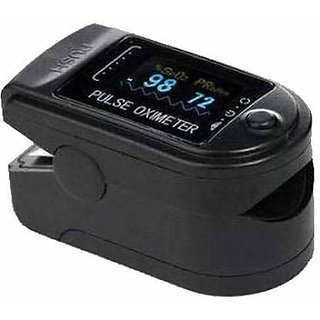 Tattoo Gizmo Fingertip Pulse Oximeter With Audio Visual Alarm FDA Approved  Multi Color