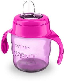 Philips Avent Toddler Spout Cup With Twin Handle (Pink)