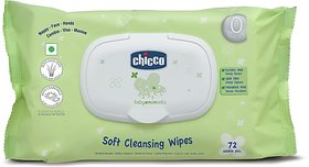 Chicco Baby Wipes Fliptop 72 Pcs In (72 Wipes)