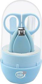 Buddsbuddy Baby Nail Care set 4pcs BB5007 Blue