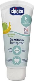 Chicco Chicco Tooth Paste Apple Banana 6M+ Toothpaste (50 g)
