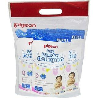 Buy Pigeon Baby Laundry Detergent Liquid 500Ml, Refill ...