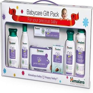 Himalaya Happy Baby Care Gift Pack With Window 7's (White)