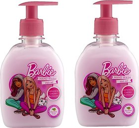 Barbie Handwash Japanese Cherry Blossom Hand Wash Pump Dispenser (2 x 125 ml)