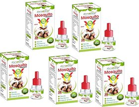 Zindagi Mosquito Repellent - Natural Baby Care Product - Mosquito Killer Extract Of Neem, Lemongrass And Turmeric (5 x 9 ml)
