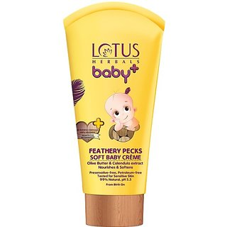 Lotus Herbals Feathery Pecks Soft Baby Creme (50 g)