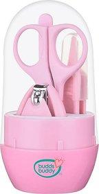 Buddsbuddy Baby Nail Care set 4pcs BB5007 Pink