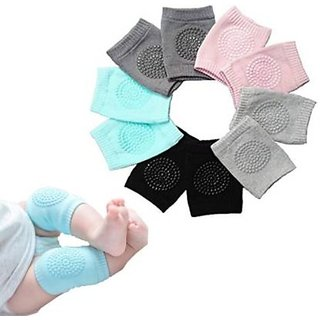 Avloan Baby Knee Pads for Crawling,Comfortable Knee Cap Elbow Safety Protector Pads, Play Saftey, Knee Protect Pack Of 1 Sky Color Baby Knee Pads (New Design)