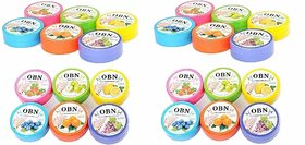 CartKing OBN Nail Polish Remover Tissue Pads Wet Wipes Pack of 24