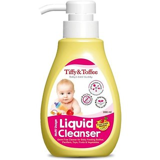 Tiffy's Toffee Multi Usage Baby Liquid Cleanser, 500ml Liquid Detergent