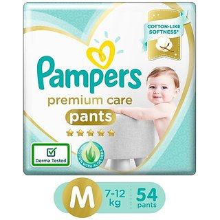 Pampers Premium Care Pants Diapers - M (54 Pieces)