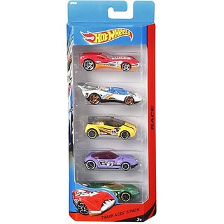 Hot Wheels 5 car gift pack (Multicolor, Pack of: 5)