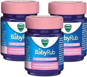 VICKS BabyRub COMFORT FOR BABIES 50ml X 3N Balm (150 ml)