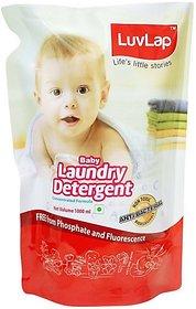 LuvLap Baby Laundry Liquid Detergent Refill Pack (1L) Liquid Detergent