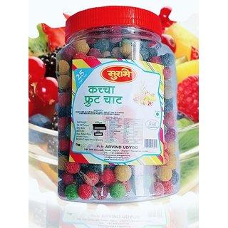 Surbhi Fruity Juicy Kachha fruit chaat candy ( wahi bachpan ka swad ) 600g  ( pack of 2 )