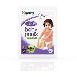 Himalaya Total Care Baby Pants - L (28 Pieces)