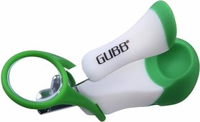 GUBB USA Nail Cutter For New Born Baby Nail Cutter / Clipper With Magnifier