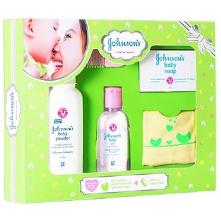 Johnson's Baby Care Collection (Green)